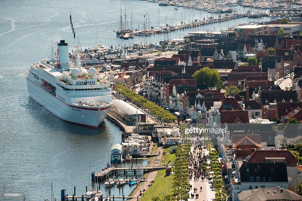 Cruise ship  at pier