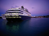Cruise Ship at Twilight