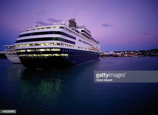 Cruise Ship at Twilight