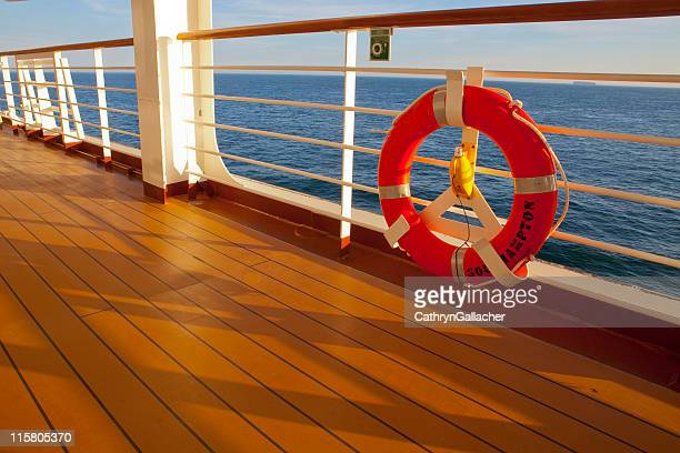 Cruise Ship Deck, Early Evening