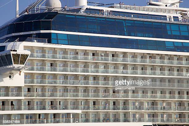 Cruise ship in Greece