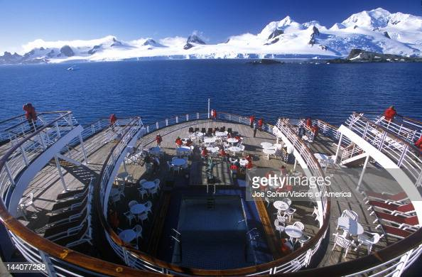 cruise ship marco polo rear deck antarctica pictures getty images. Black Bedroom Furniture Sets. Home Design Ideas