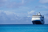 Cruise Ship on the Caribbean Sea
