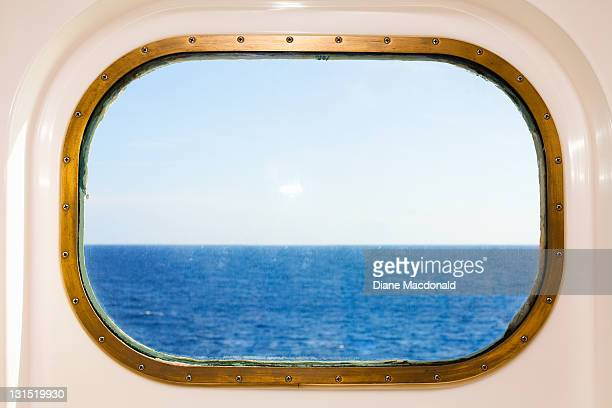 A Cruise Ship's Porthole