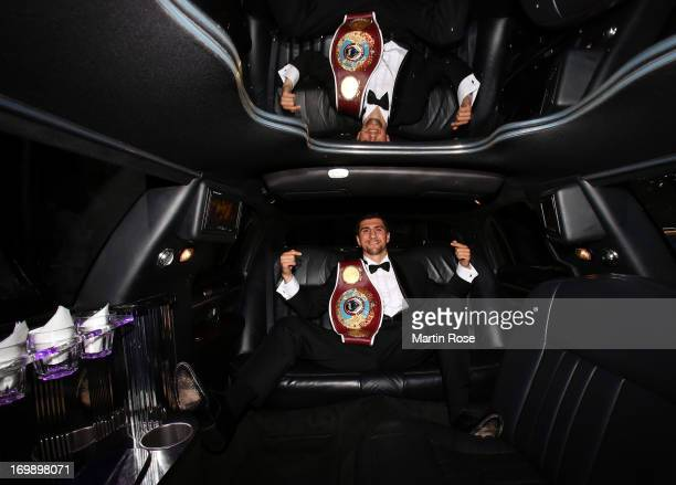 Cruiserweight fighter Marco Huck of Germany poses during a photocall on June 3 2013 in Berlin Germany