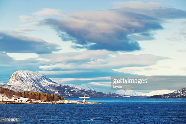 in questa crociera lungo i fiordi in Norvegia