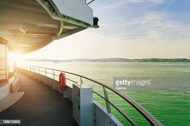 cruising ship at Bodensee Germany