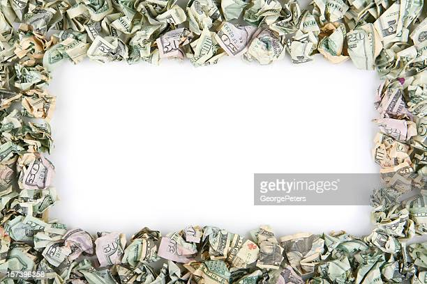 Crumpled Money Making Frame