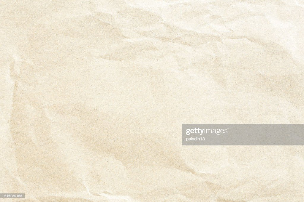 Crumpled paper texture : Stock Photo