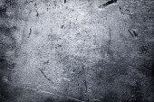 Dark metal texture, peeled steel sheet background