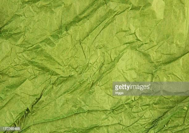 Crumpled tissue paper