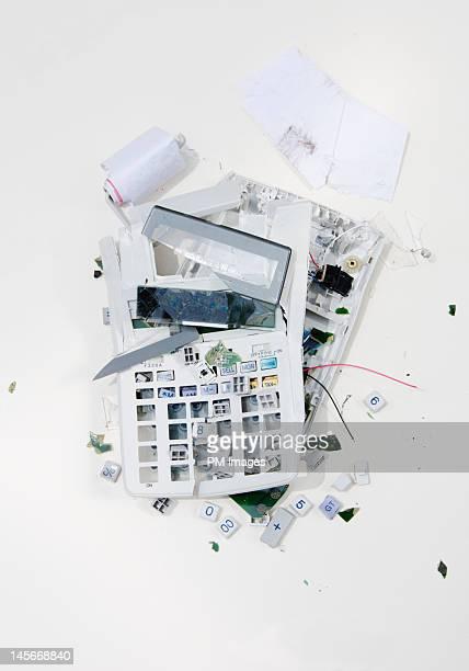 Crushed Adding Machine