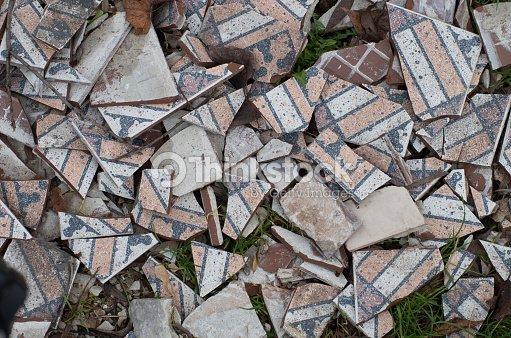 Crushed Ceramic Tiles Background Stock Photo Thinkstock - Ceramic tile scraps