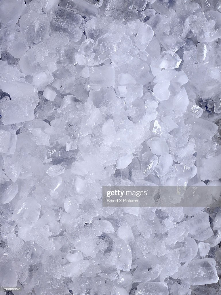 Crushed ice