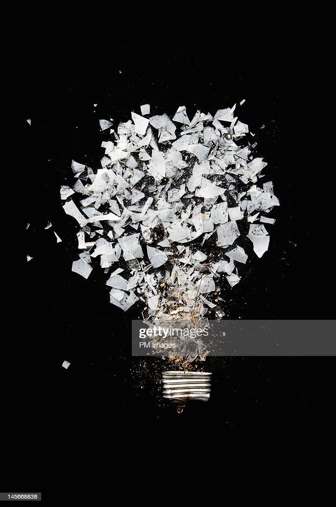 Crushed Lightbulb