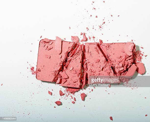 Crushed powder blush