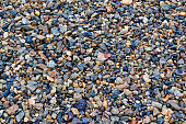 Crushed stones texture background. Stones construction rocks.