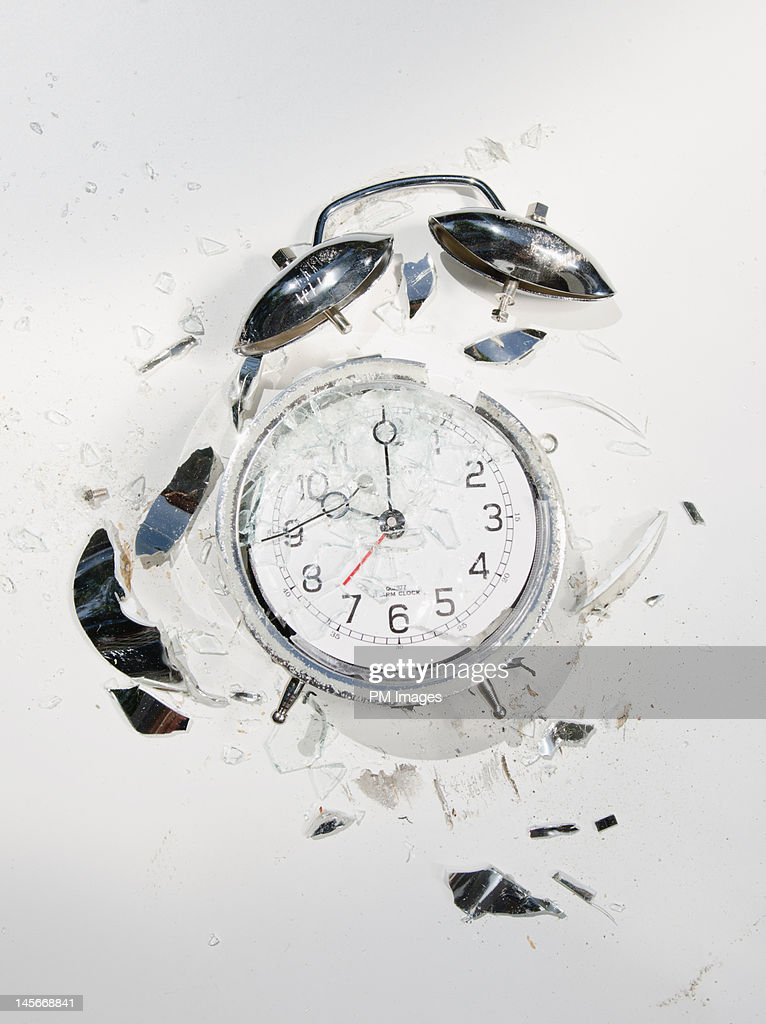 Crushed Time : Stock Photo