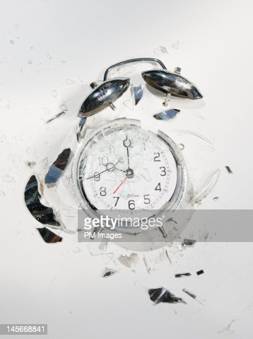 Crushed Time : Foto de stock