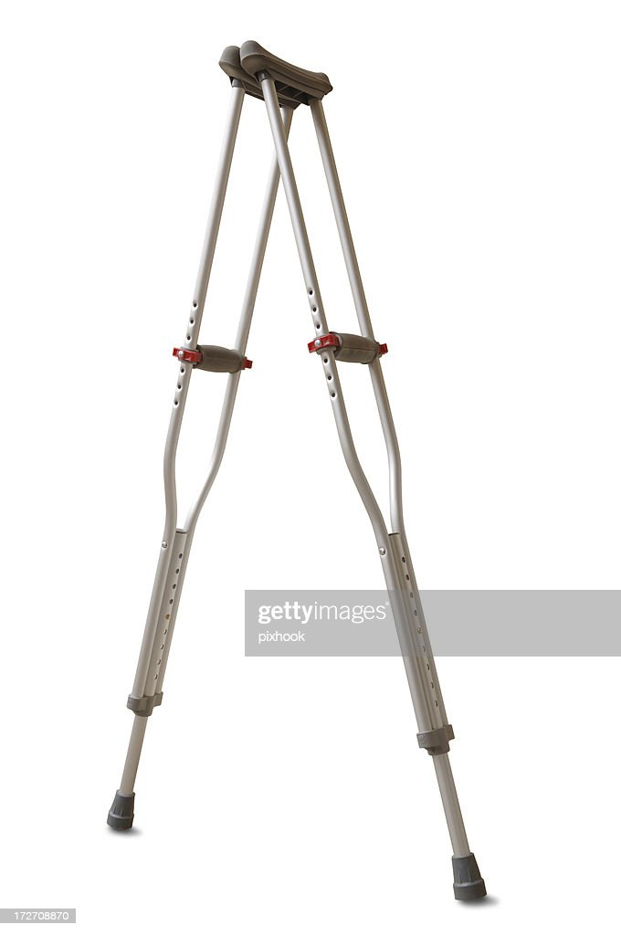 Crutches with Path