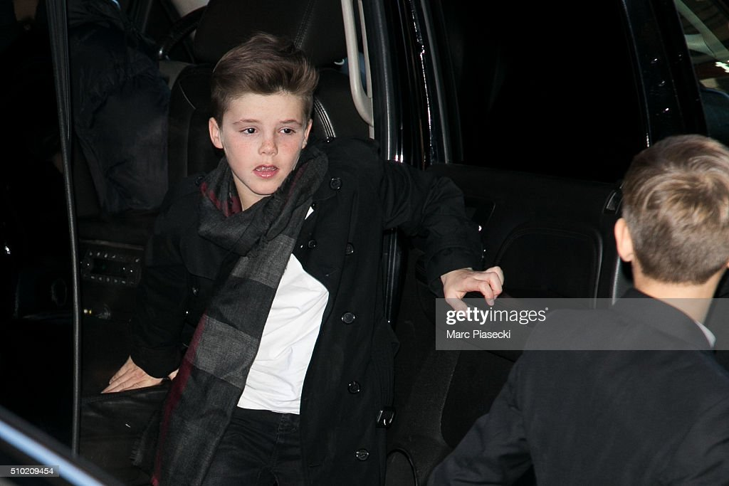 <a gi-track='captionPersonalityLinkClicked' href=/galleries/search?phrase=Cruz+Beckham&family=editorial&specificpeople=4337497 ng-click='$event.stopPropagation()'>Cruz Beckham</a> arrives at the 'Balthazar' restaurant on February 14, 2016 in New York City.