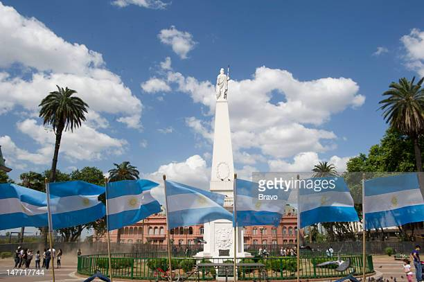 PLATES 'Cry for Me Argentina' Episode 109 Pictured The Piramide de Mayo in the Plaza de Mayo in Buenos Aires Argentina in 2011