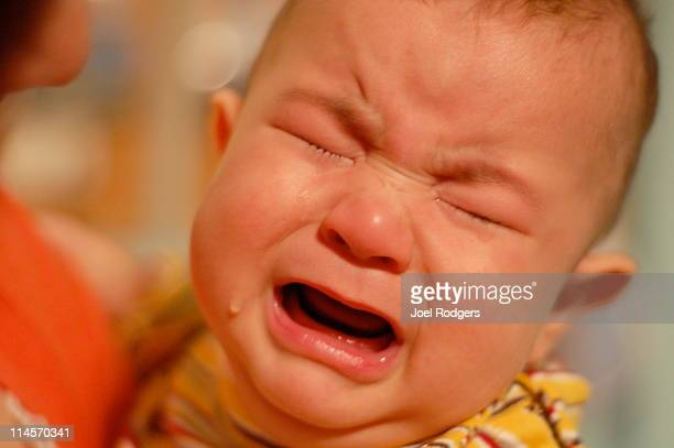 Crying baby boy