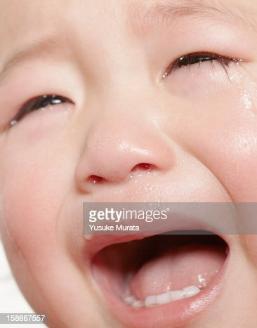 Crying baby : Foto de stock