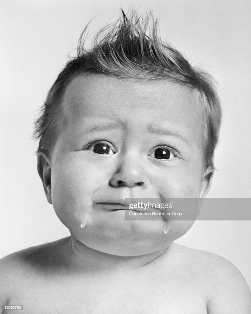 Crying baby : Stock Photo