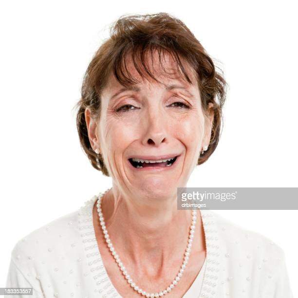 Crying Mature Woman