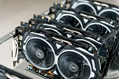 Crypto currency mining rig