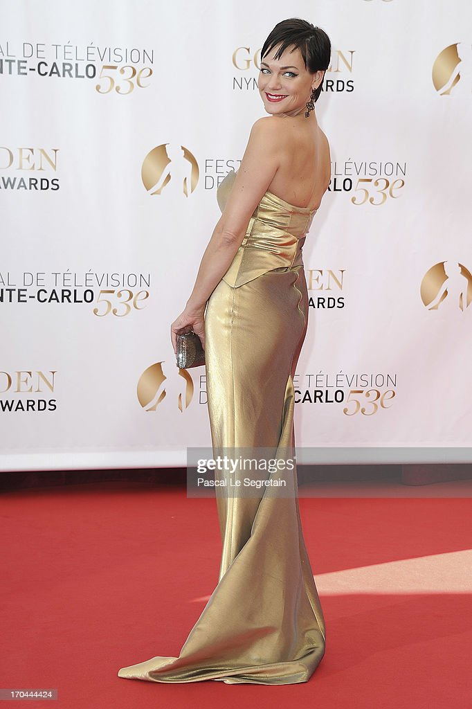 Crystal Allen attends the closing ceremony of the 53rd Monte Carlo TV Festival on June 13, 2013 in Monte-Carlo, Monaco.