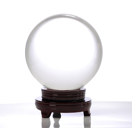 how to make a crystal ball stand