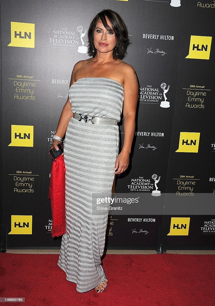 Crystal Chappell attends 39th Annual Daytime Emmy Awards at The Beverly Hilton Hotel on June 23, 2012 in Beverly Hills, California.