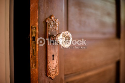 Crystal Door Knob : Stock Photo