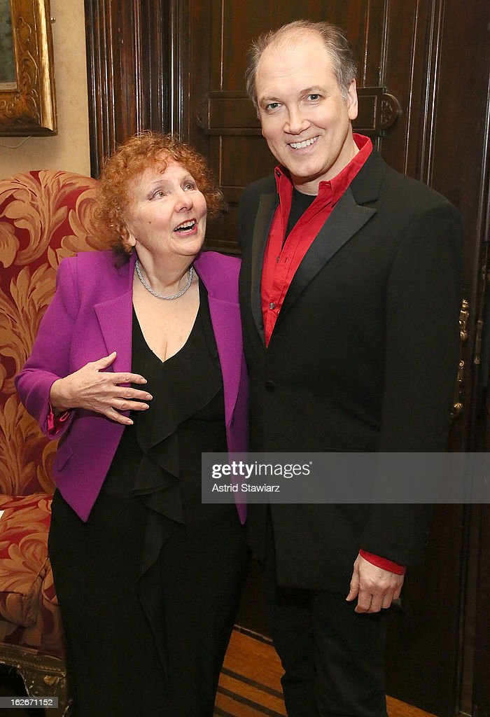 Crystal Field and <a gi-track='captionPersonalityLinkClicked' href=/galleries/search?phrase=Charles+Busch&family=editorial&specificpeople=227410 ng-click='$event.stopPropagation()'>Charles Busch</a> attend the 10th Annual Love 'N' Courage Benefit For TNC's Emerging Playwrights Program at The National Arts Club on February 25, 2013 in New York City.