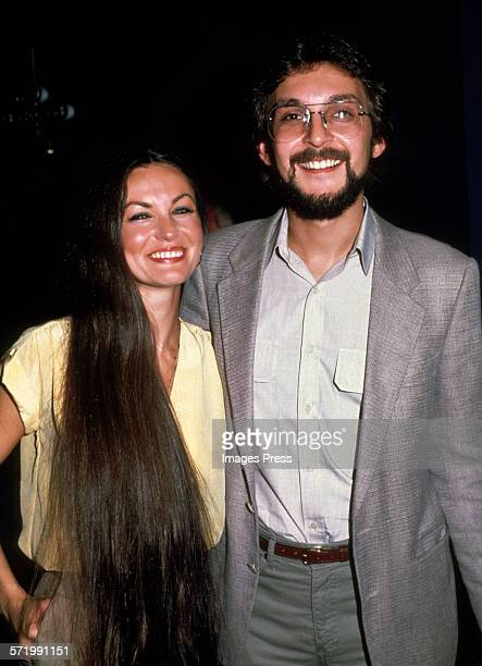 Crystal Gayle and husband Bill Gatzimos circa 1980s in New York City