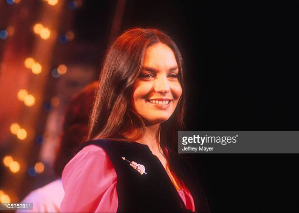 Crystal Gayle during Crystal Gayle in Concer April 10 1975 in Burbank California United States
