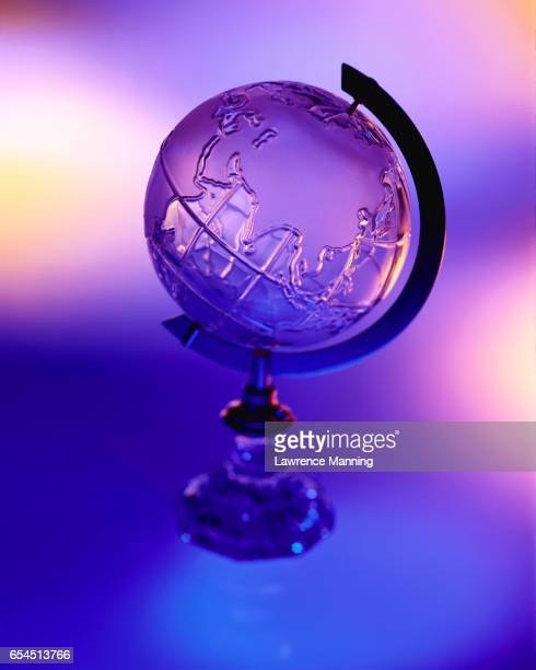 Crystal Globe and Blue Light