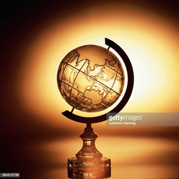 Crystal Globe and Golden Light