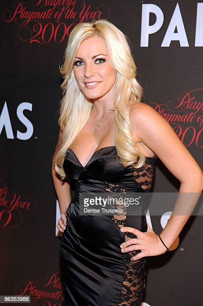 Crystal Harris arrives at Playboy's 50th Annual Playmate of the Year Announcement and Celebration at Palms Hotel Casino on May 2 2009 in Las Vegas...