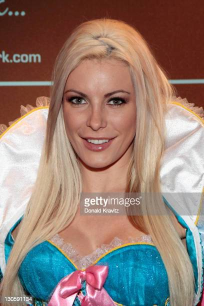 Crystal Harris December 2009 Playboy Playmate hosts an evening at The Pool After Dark at Harrah's Resort on October 26 2011 in Atlantic City New...