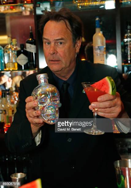 Crystal Head Vodka cocktail hosted by Dan Aykroyd at The Sanctum Hotel on June 6 2017 in London England
