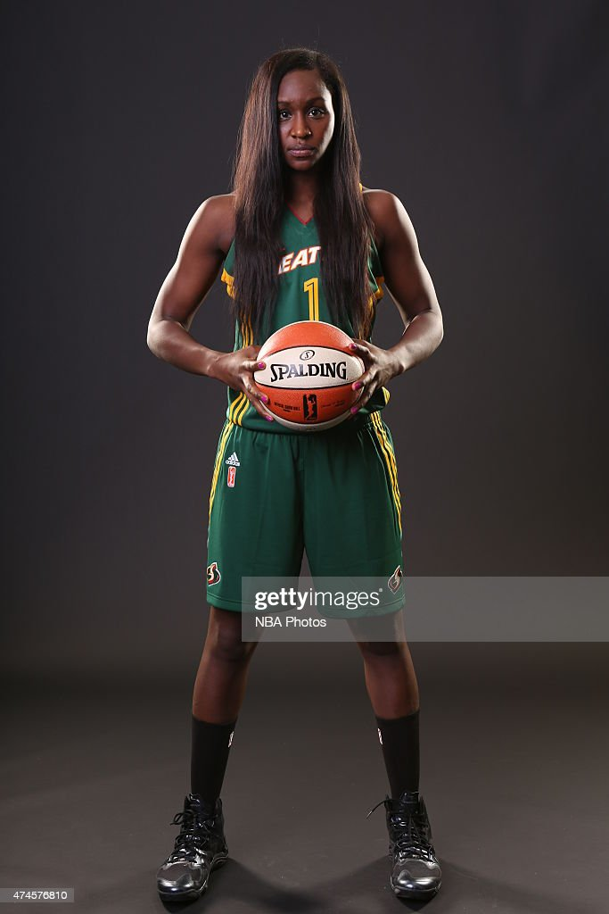 <a gi-track='captionPersonalityLinkClicked' href=/galleries/search?phrase=Crystal+Langhorne&family=editorial&specificpeople=700514 ng-click='$event.stopPropagation()'>Crystal Langhorne</a> #1 of the Seattle Storm poses for WNBA Media Day on May 23, 2015 at Key Arena in Seattle, Washington.