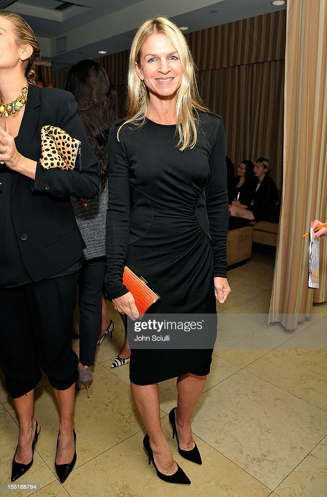 Crystal Lourd attends a dinner hosted by Ali Larter celebrating the Devi Kroell Spring Summer 2013 Collection at Sunset Tower on November 1, 2012 in West Hollywood, California.