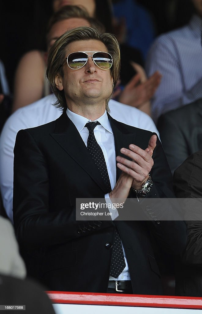 Crystal Palace Chairman Steve Parish during the npower Championship match between Crystal Palace and Peterborough United at Selhurst Park on May 04, 2013 in London, England.