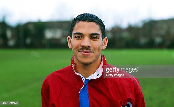 Crystal Palace forward Stan Collymore pictured on May 1 1991 in London England