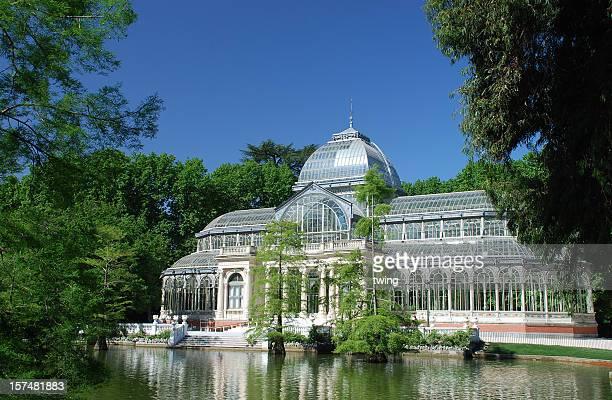 Crystal Palace en Retiro Park, Madrid