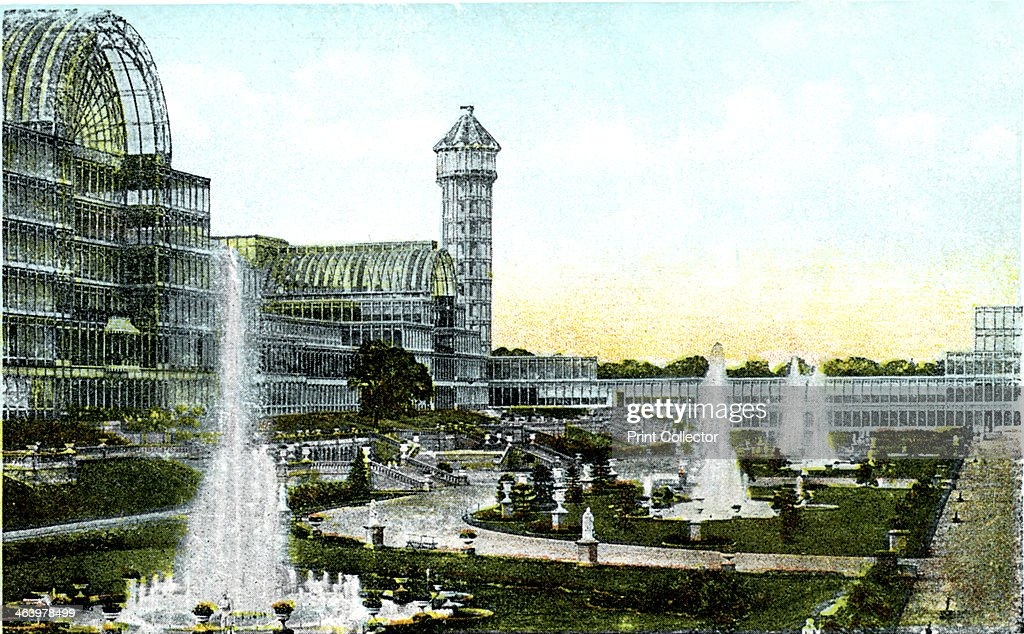 Crystal Palace London 20th Century Designed By Sir Joseph Paxton The