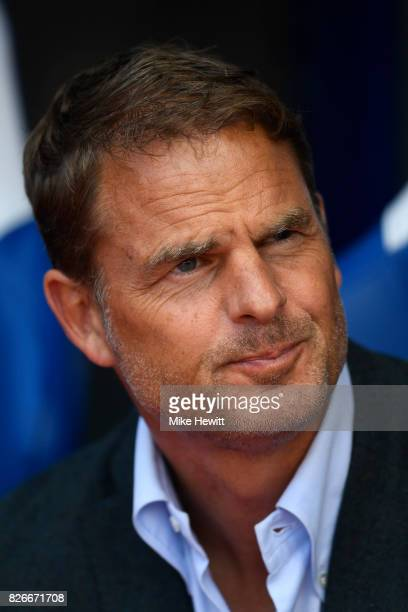 Crystal Palace manager Frank de Boer looks on during a Pre Season Friendly between Crystal Palace and FC Schalke 04 at Selhurst Park on August 5 2017...